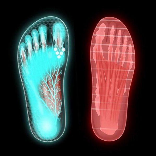 noha v topánke